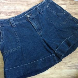 SONOMA Mom Jeans Shorts Relaxed Cuff Denim